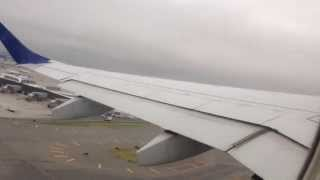Jet Blue takeoff from JFK airport- Embraer E-190. (HD)