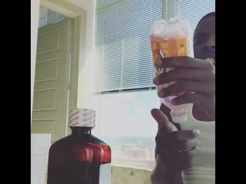 Johnny Cino Pouring Up real Codeine Lean Like Dj Screw