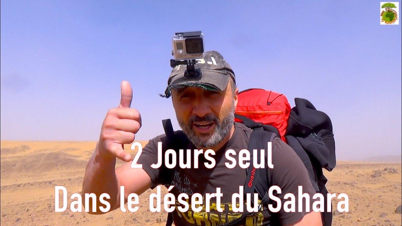 2 Jours seul dans le désert du Sahara