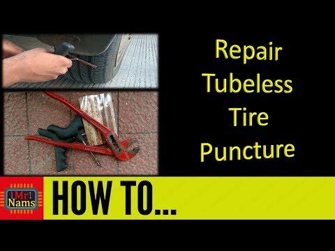 puncture repair tubeless