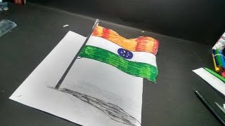 india National Flag 3D  | Republic Day /Independence Day