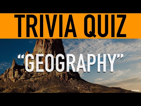Trivia Questions And Answers (Geography Trivia Quiz)   Family Game Night #StayHome