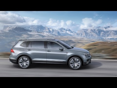 VW Tiguan Allspace arrives in Europe to spice up Geneva Motor Show 2017