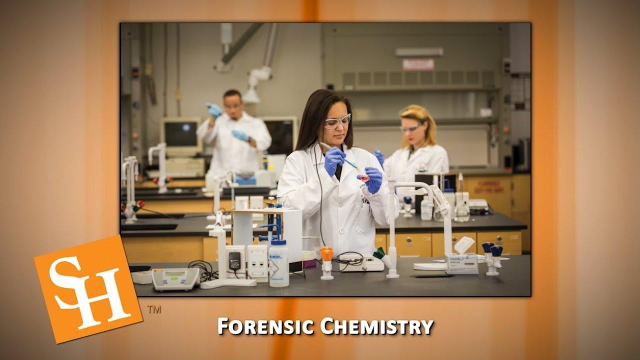 Forensic Chemistry Degree At Shsu Youtube