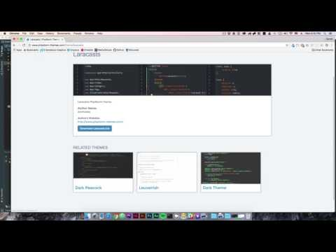 How to change your JetBrains IDE UI Theme | PHPStorm - YouTube