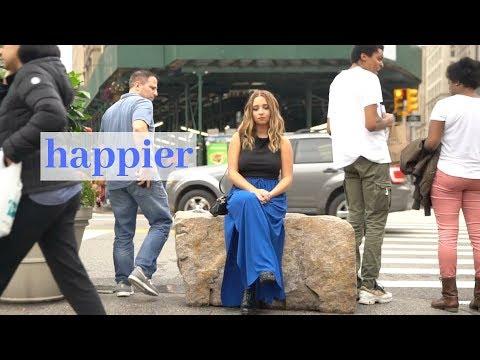 Happier - Marshmello ft. Bastille - Cover by Ali Brustofski (Acoustic) Music Video