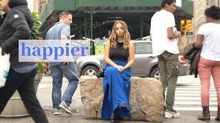 Happier - Marshmello ft. Bastille - Cover by Ali Brustofski (Acoustic)