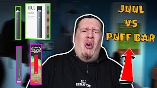 JUUL vs Puff Bar Disposable Pod Device Review
