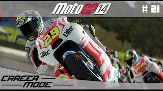 MotoGP 14 Career Mode Walkthrough - Part 21 Moto 2 DEBUT Qatar Grand Prix