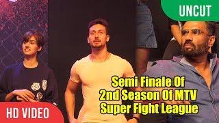 Semi Finale Of 2nd Season Of MTV Super Fight League | Tiger Shroff | Suniel Shetty
