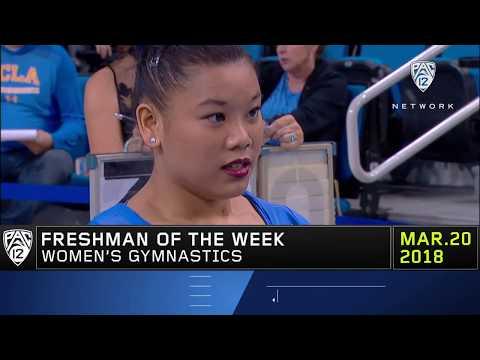 Pac-12 Freshman of the Week Anna Glenn