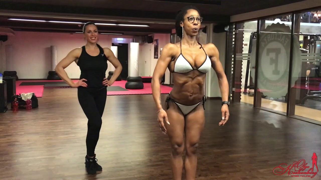 Body fitness posering