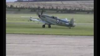 Duxford 2008 - Supermarine Seafire Mk. XVII
