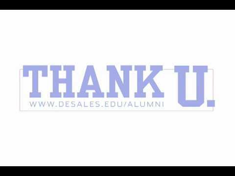 Thank U DeSales Alumni