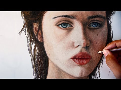 Color pencil drawing tutorial-Marcus Art thumbnail