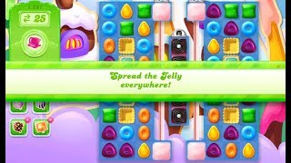 Candy Crush Jelly Saga Level 1297 (No boosters)