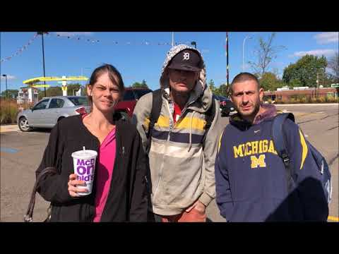 End Of The World! For Some! Detroit's 8 Mile Homeless Crisis PLEASE WATCH! Share!