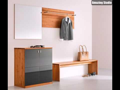 gestaltungsideen f r ihren flur mit schuhschrank von team 7 dielenm bel design youtube. Black Bedroom Furniture Sets. Home Design Ideas