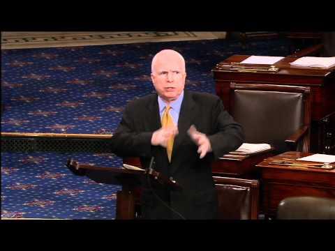 "McCain to Republicans: Pushing Balanced Budget Amendment is ""Bizarro"""