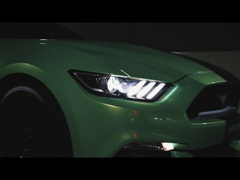 MUSTANG GT WRAPPED IN KELLY GREEN!