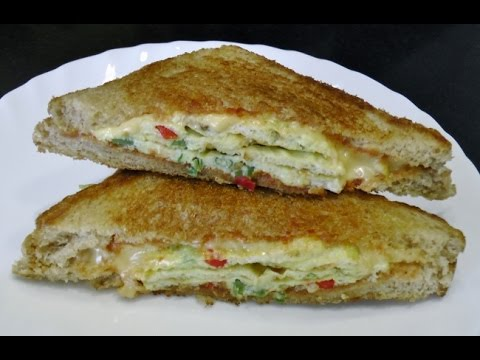 Omelette Sandwich - Quick & Easy Breakfast recipe