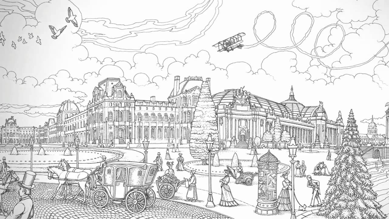 pictura tomislav tomis a walk through paris youtube - Travel Coloring Book