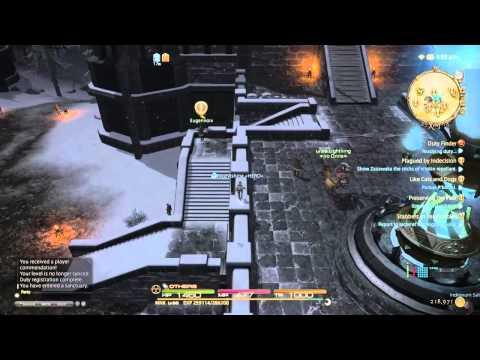 AzureXemnos's Live PS4 Broadcast final fantasy 14 dungeons