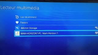 PS4 - Lecteur Multimédia enfin disponible !