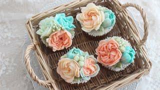 [ENG] Butter Cream Flower Cupc…