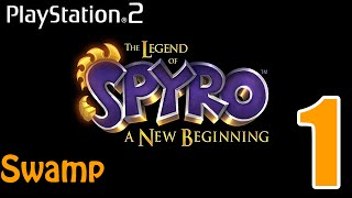PS2 Game(1) Special - The Legend Of Spyro: A New Beginning (Part 1: Swamp)