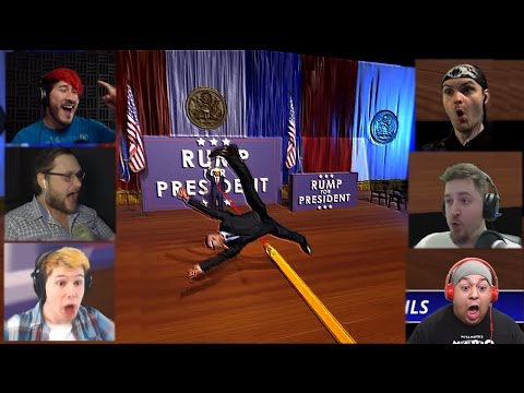Реакции Летсплейщиков на Спасение Президента из Mr. President