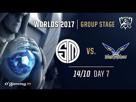 TSM vs Flash Wolves - World Championship 2017 - Group Stage - Day 7 - League of Legends
