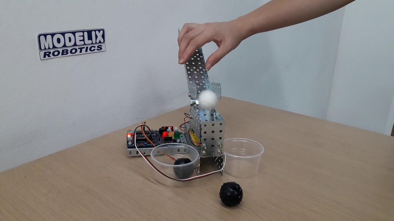 Robótica Educacional - Projeto Separador de Bolinhas