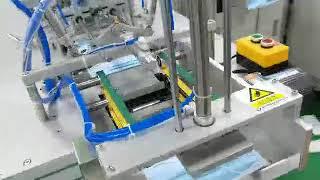 덴탈 마스크 기계 분당 100매 장비 / 3-ply I…