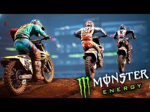 O SIMULADOR de MOTOCROSS!!! - Monster Energy SuperCross
