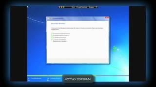 Установка Windows 7 видео