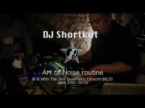DJ Shortkut Art of Noise routine @ Ill With The Skill DJ Academy, Utrecht (NLD)