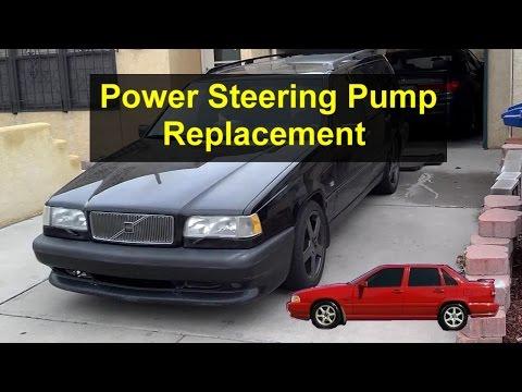 Power steering pump replacement, Volvo 850, S70, V70, V70 XC, etc. – VOTD
