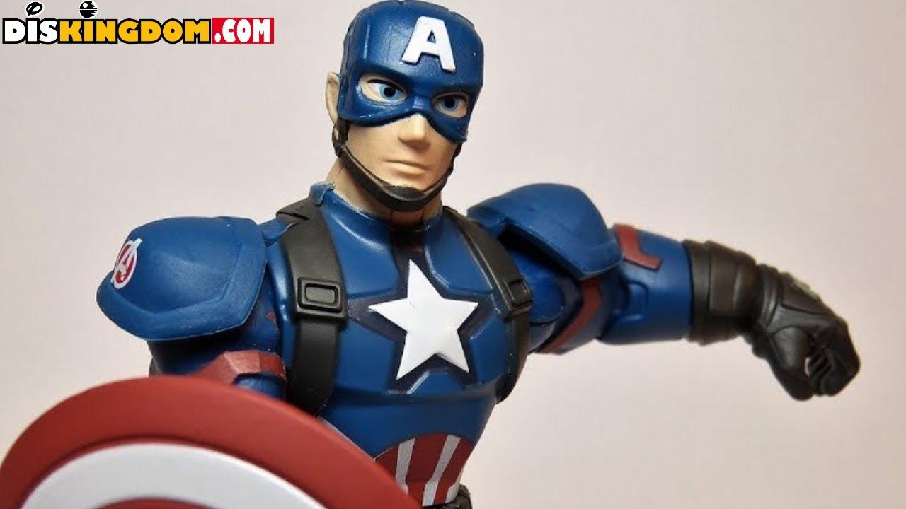 Kids Toys Action Figure: Captain America Marvel Toy Box Action Figure Review