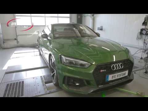 Audi RS5: chip tuning and dyno test at DTE Systems