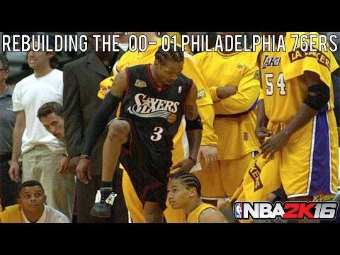 NBA 2K16 Rebuilding Historic Teams: The