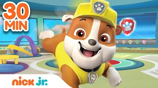 Best of Rubble 🐶 PAW Patrol! | 30 Minute Compilation | Nick Jr.