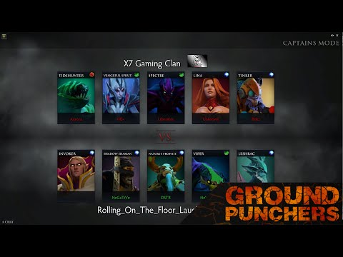 Ground Punchers Pub League: Match 5 ROFL Vs. X7 Gaming Clan