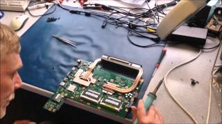 Notebook-Bios Update Misslungen - so wird der Bios Chip ausgetauscht