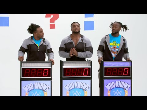 "The New Day compete against each other on ""Who Knows WWE Network?"""