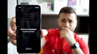 [2019] How to Remove Forgotten Passcode of iPhone - 6/7/8/X and XS
