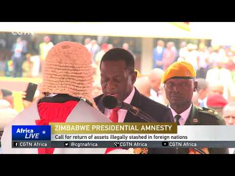 Mnangagwa issues amnesty for return of funds stashed abroad
