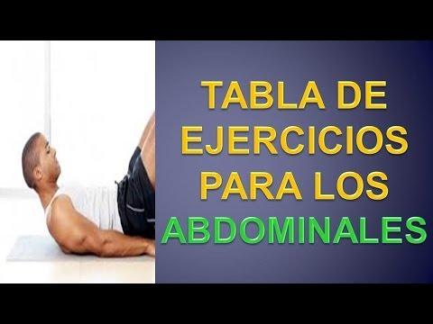 ejercicios para tener los abdominales marcados
