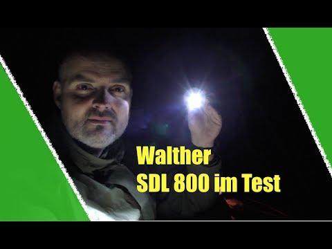 Walther SDL 800 Taschenlampe im Test