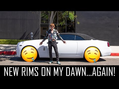 New wheels on the Dawn and buying a Porsche 911 GT3?!